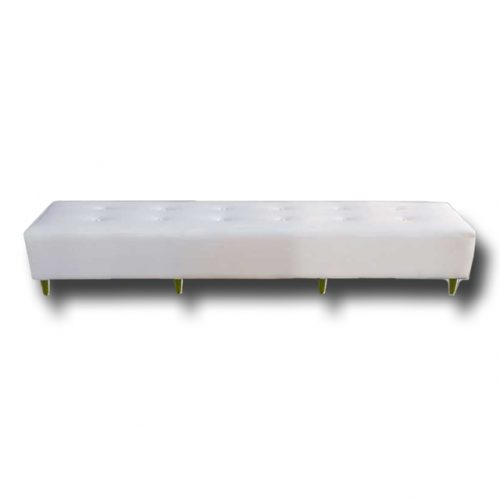 Bench Tufted Bone White