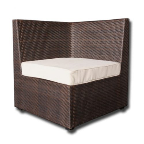 Wicker Chair Corner Seat