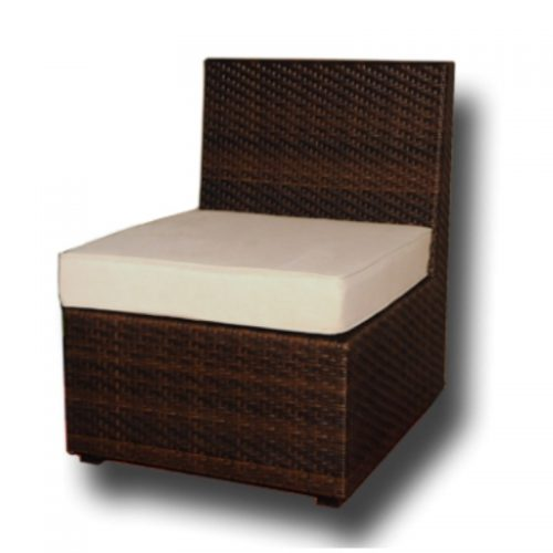 Single Seat Wicker Chair