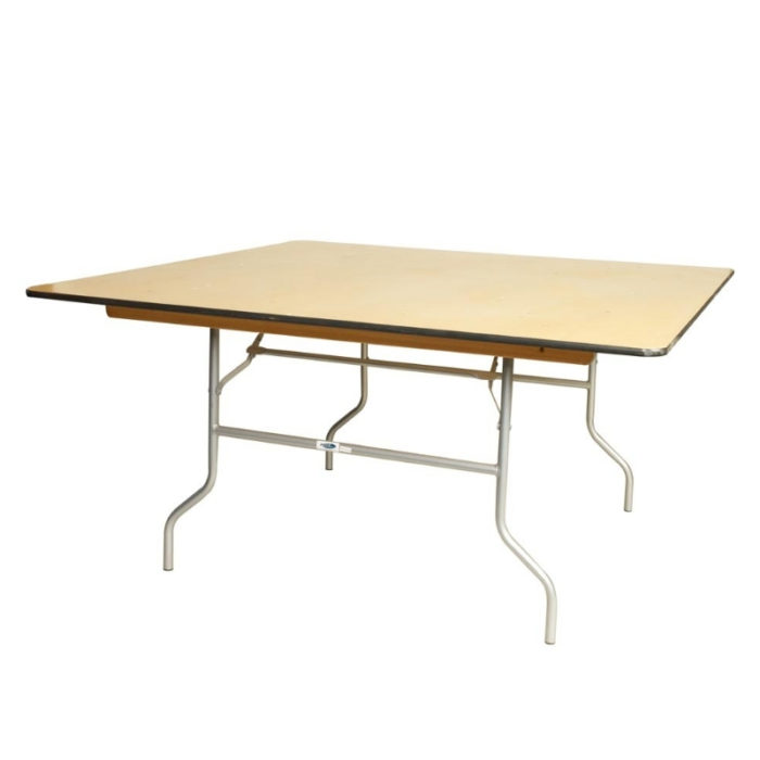 48in square table
