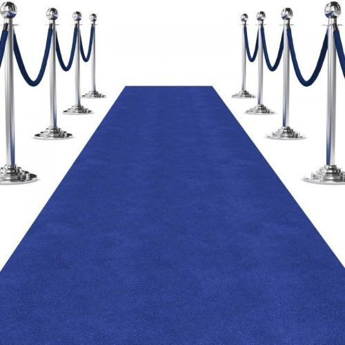 Blue Carpet Finshed Edge
