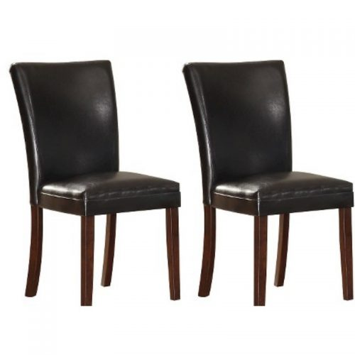 Chair Dark Brown Leather