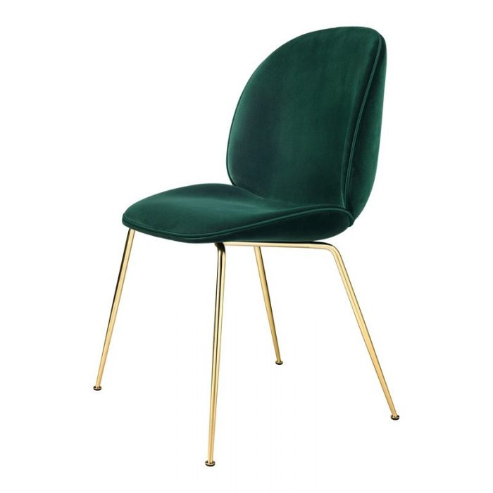 Emerald Green Velvet Chair