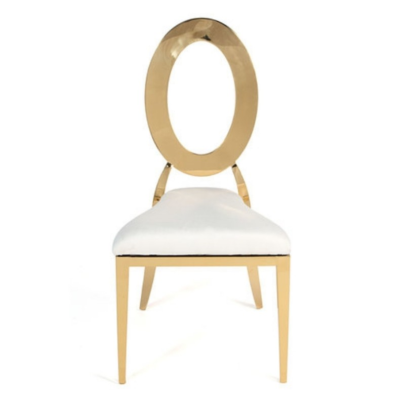 Gold O Chair
