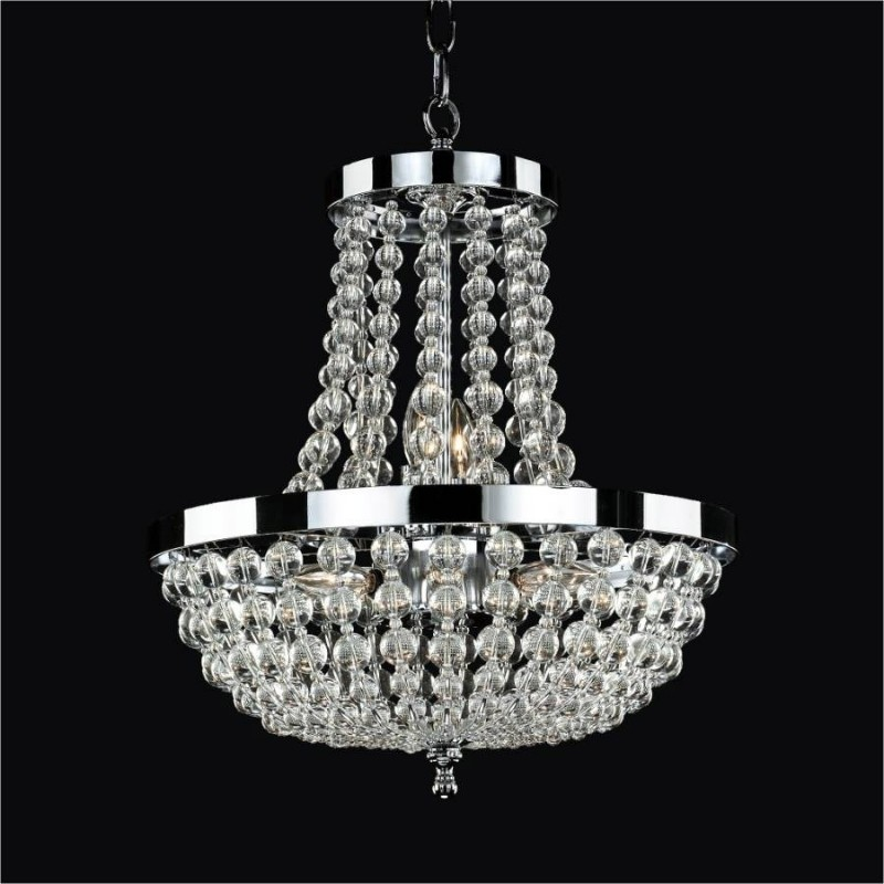 Small French Empire Chandelier