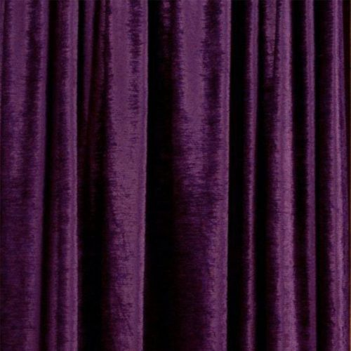 Purple Velour Drape