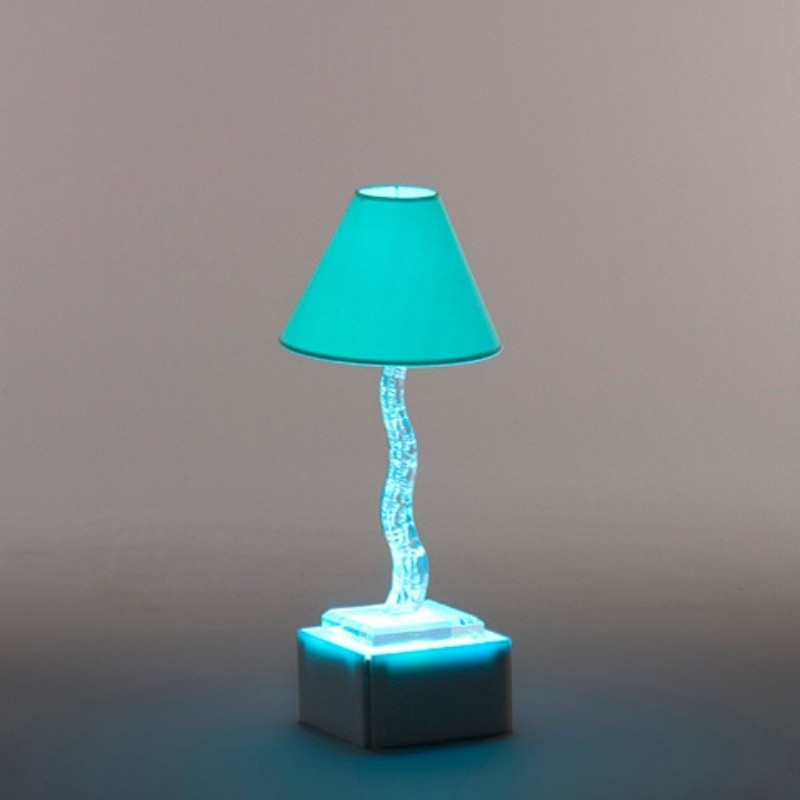 Acrylic Etched Lamp