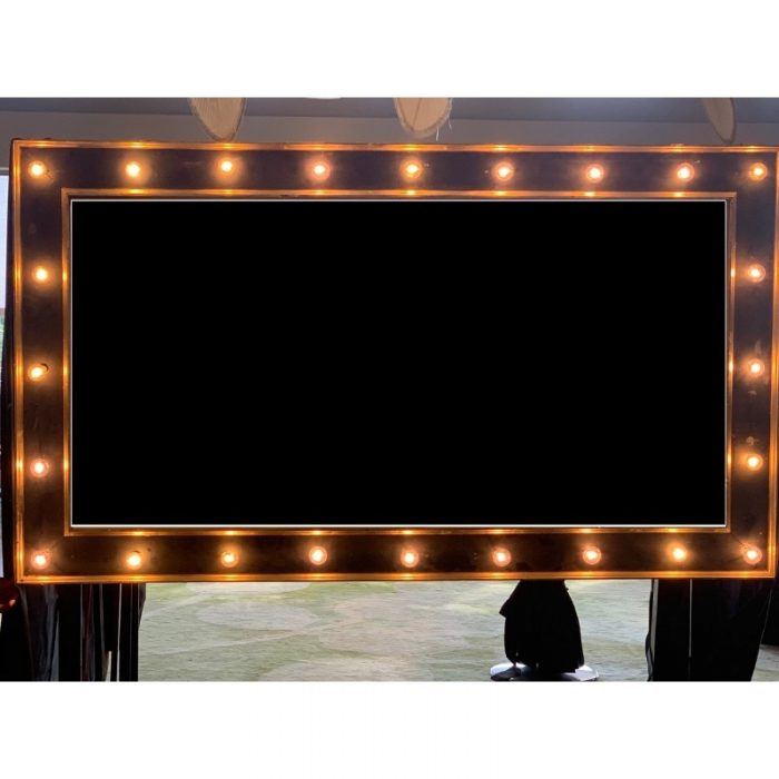 Giant Picture Frame with Lights