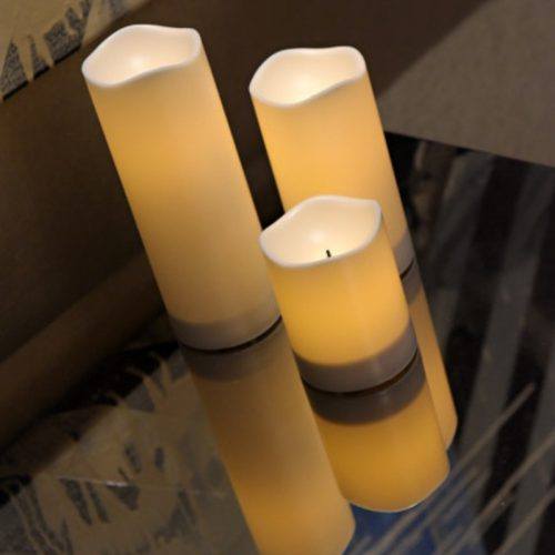 LED Candle Pillar