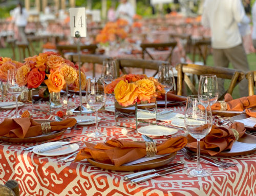 Add the finishing touches with tabletop rentals