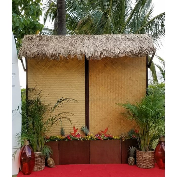 Panel Thatched Top Lauhala