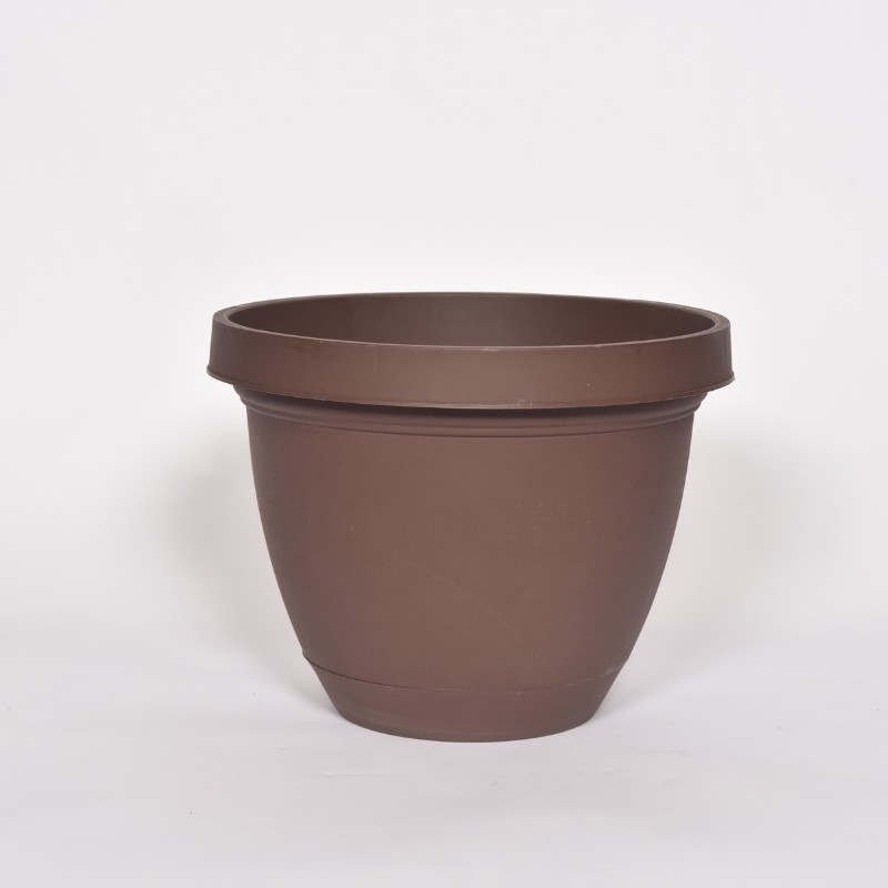 Brown Infinity Planter 13x17