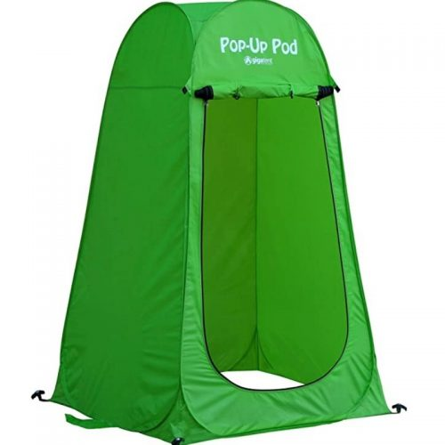 Pop Up Changing Pod Green
