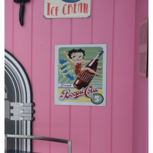 Betty Boop Sign