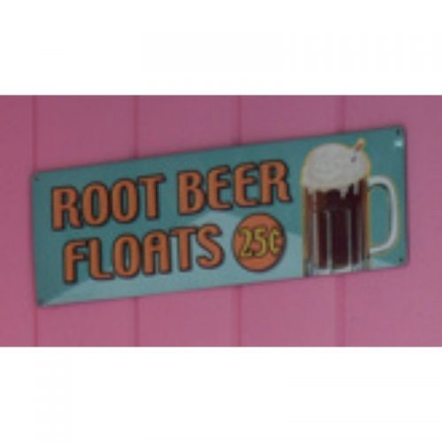Root Beer Float Sign