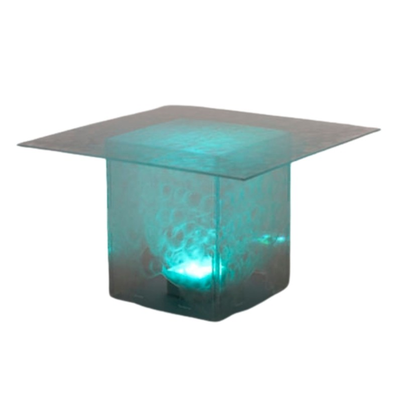Square Etched Table