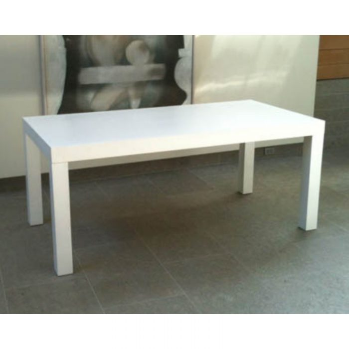 White Parson Table 4x8