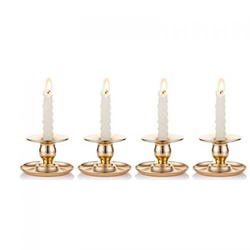 Gold Taper Candle Holder
