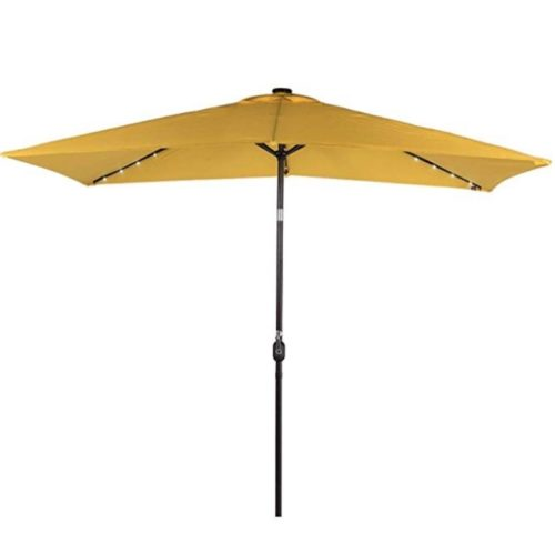 Yellow Market Umbrella