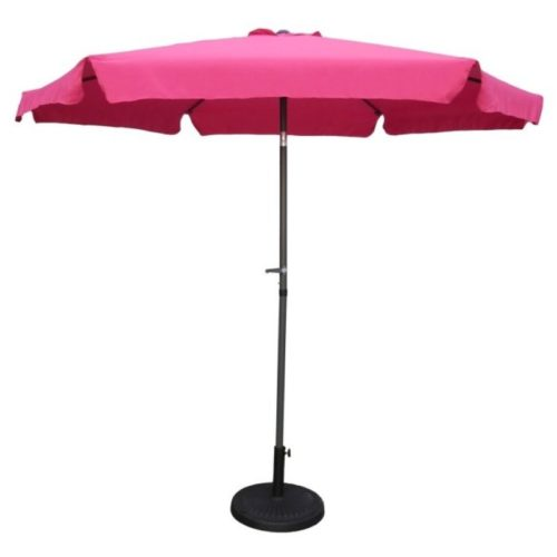 Pink Patio Umbrella