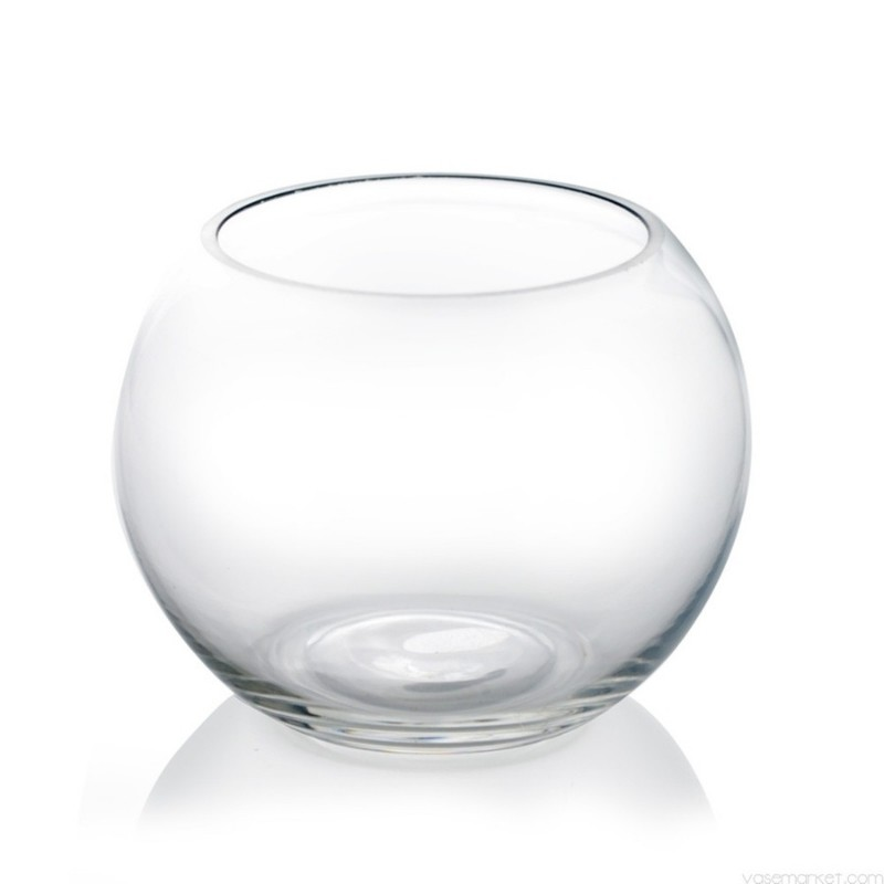 Clear Fish Bowl Votive