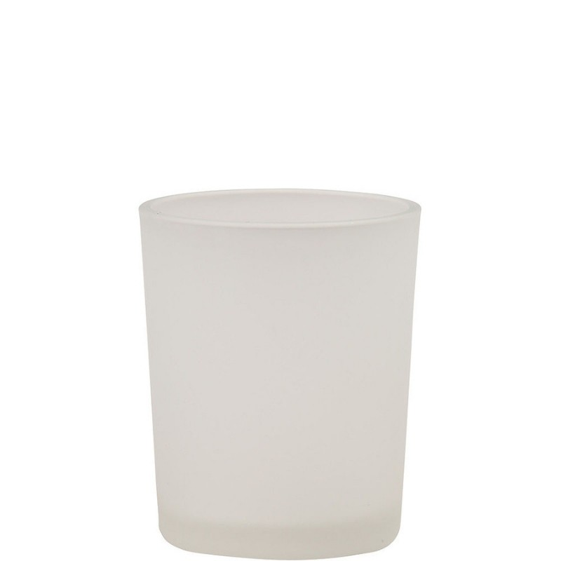 Frosted Glass Votive