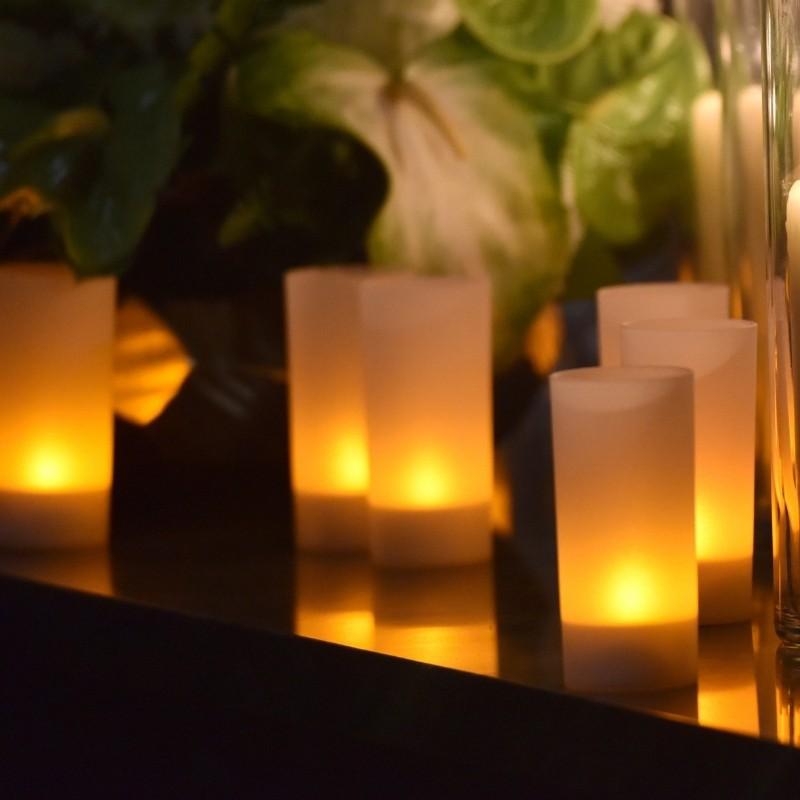 Frosted Votive