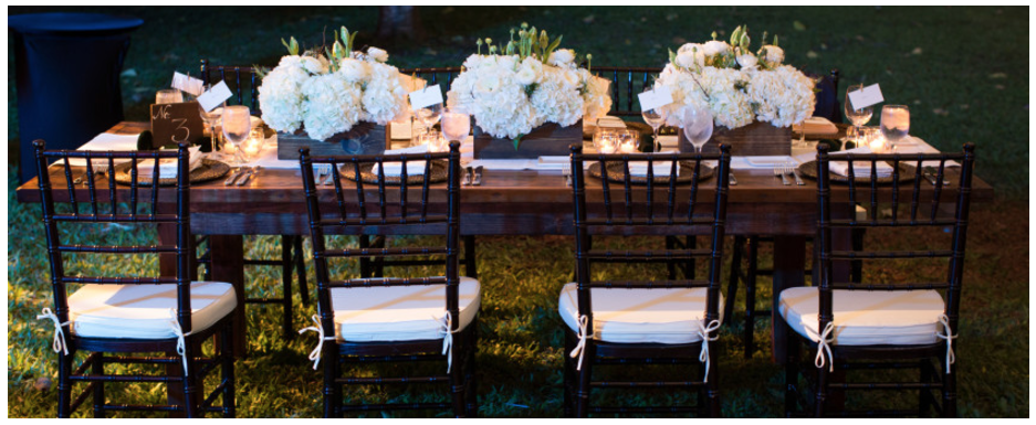 Table and Chair Rentals in Oahu