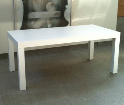 white-parsons-table